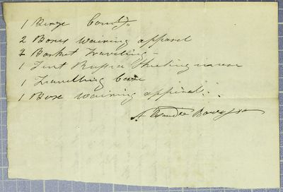 Alexander Bourassa, Manifest, 1827