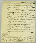 William Solomon, Manifest, 29 September 1827