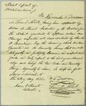 Dousman, Oath, 14 August 1828
