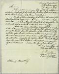 Treasury Department, letter, 9 August 1831