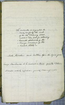 Mackinac Abstract, Reports, 30 September 1831