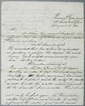 Treasury Department, letter, 14 August 1843