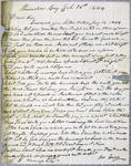 WilliamTerry, letter, 26 February 1844