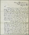 Treasury Department, letter, 22 May 1844