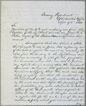 Treasury Department, letter, 19 September 1844