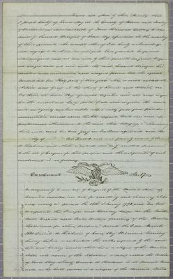 Active, Bill of Sale, 7 April 1846
