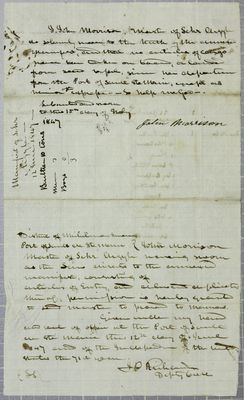 Argyle, Oath, 12 June 1847