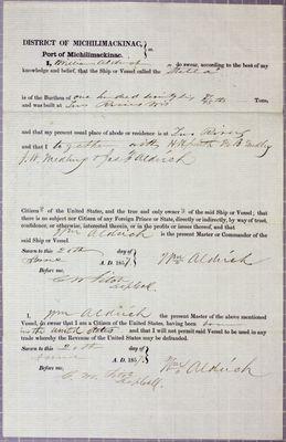 Stella, Oath, 20 June 1857