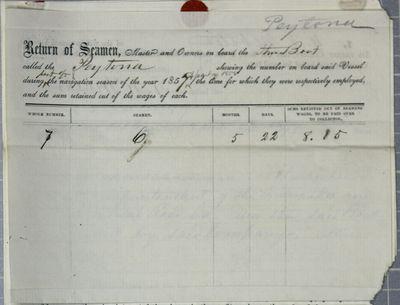 Peytona, Reports, 13 May 1858