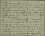 Mitchell Abbott, Bond, 9 October 1838