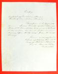 Robert B. Campbell, Permit, 14 October 1853