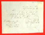 Green Bay, Report of Goods, Report, 30 September 1853