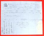 Columbia, Manifest, 12 April 1854