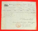 Ogontz, Manifest, 30 May 1854