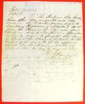 Detroit, Permit, 31 August 1847