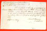 Hennrietta, Permit, 20 September 1847