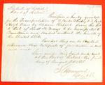 Detroit, Permit, 1 August 1848