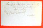 Argyle, Manifest , 2 October 1848