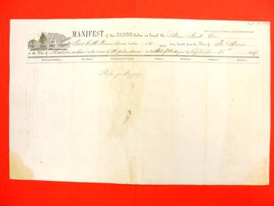 Gore, Manifest, 28 September 1849