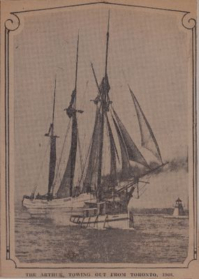 Sturdy Old Arthur: Schooner Days LIII (53)