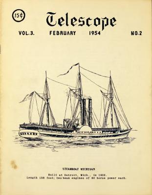 Telescope, v. 3, n. 2 (February 1954)