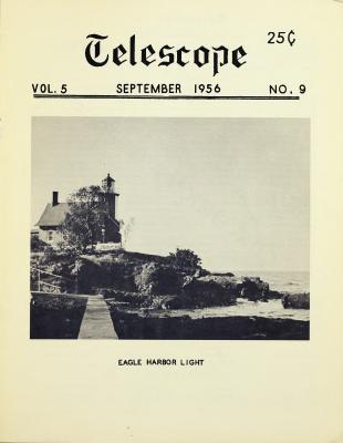 Telescope, v. 5, n. 9 (September 1956)