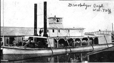 Sternwheeler Brooklyn on Fox River