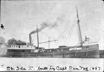 Steamer Ida E.