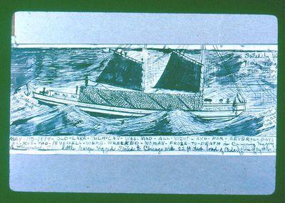 Steam Barge Sidney O. Neff
