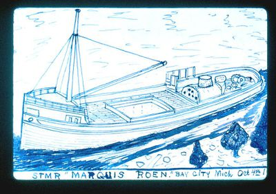 Steamer Marquis Roen
