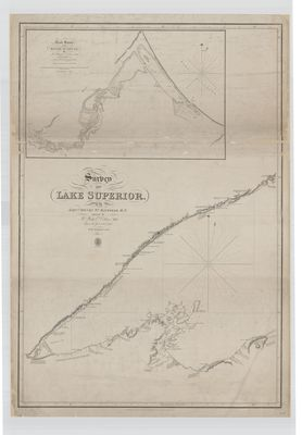 Survey of Lake Superior. Sheet 1 [1823-25]