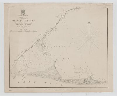 Lake Erie. Long Point Bay [1839]