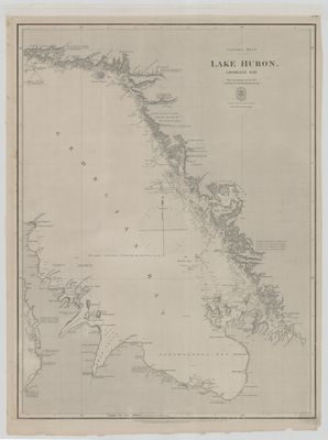 Lake Huron. Georgian Bay [1822, 1864]