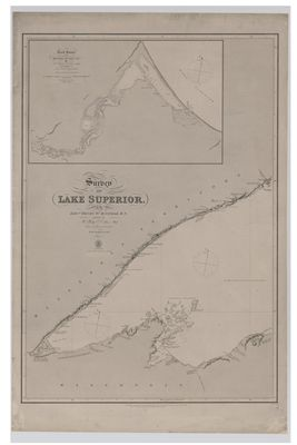 Survey of Lake Superior. Sheet 1 [1823-25, 1863]