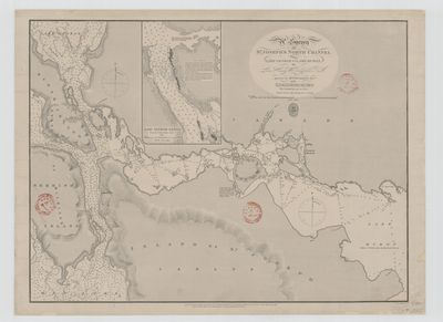 A Survey of St. Joseph's North Channel, Lake Huron [1822, 1865]