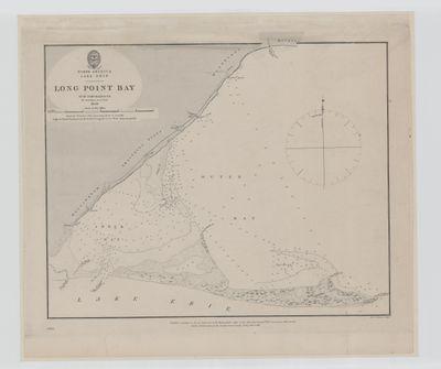 Lake Erie. Long Point Bay [1839, 1863]