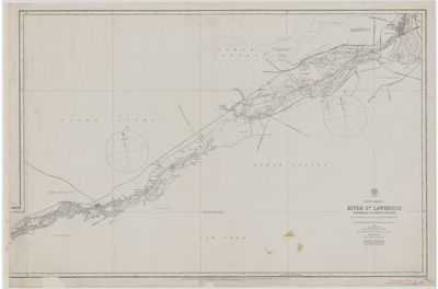 River St. Lawrence: Montreal to Ogden Island [1882, 1896]