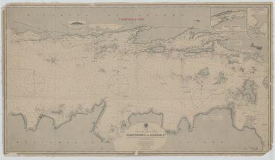 Lake Huron - North Channel: Clapperton I to Mildram Pt. [1889]