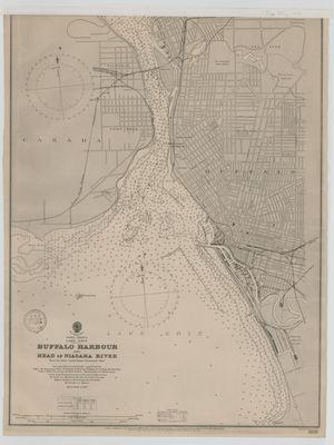 Buffalo Harbour and Head of Niagara River [1897]