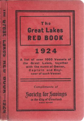 The Great Lakes Red Book, 1924