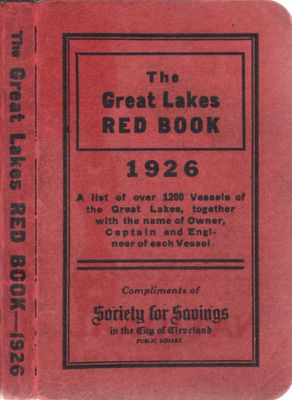 The Great Lakes Red Book, 1926