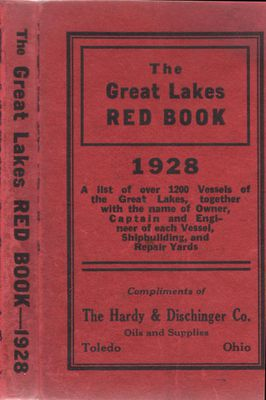 The Great Lakes Red Book, 1928