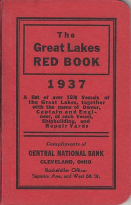 The Great Lakes Red Book, 1937