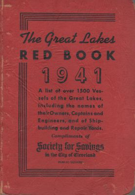 The Great Lakes Red Book, 1941