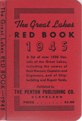 The Great Lakes Red Book, 1945