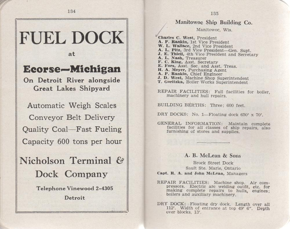 The Great Lakes Red Book, 1946