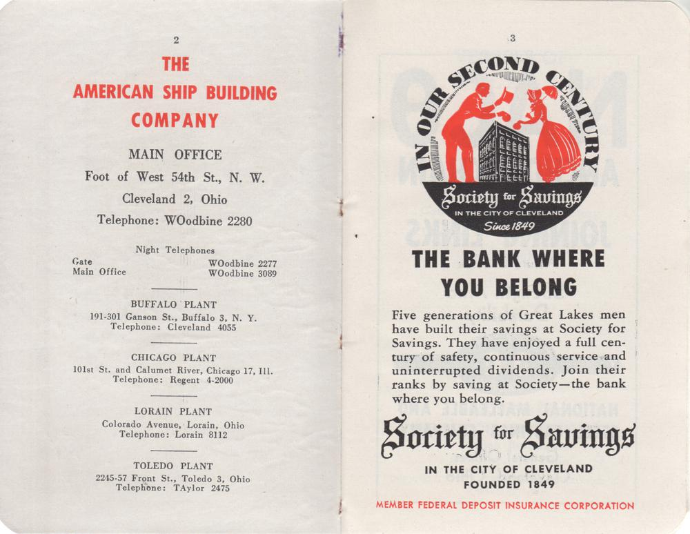 The Great Lakes Red Book, 1950