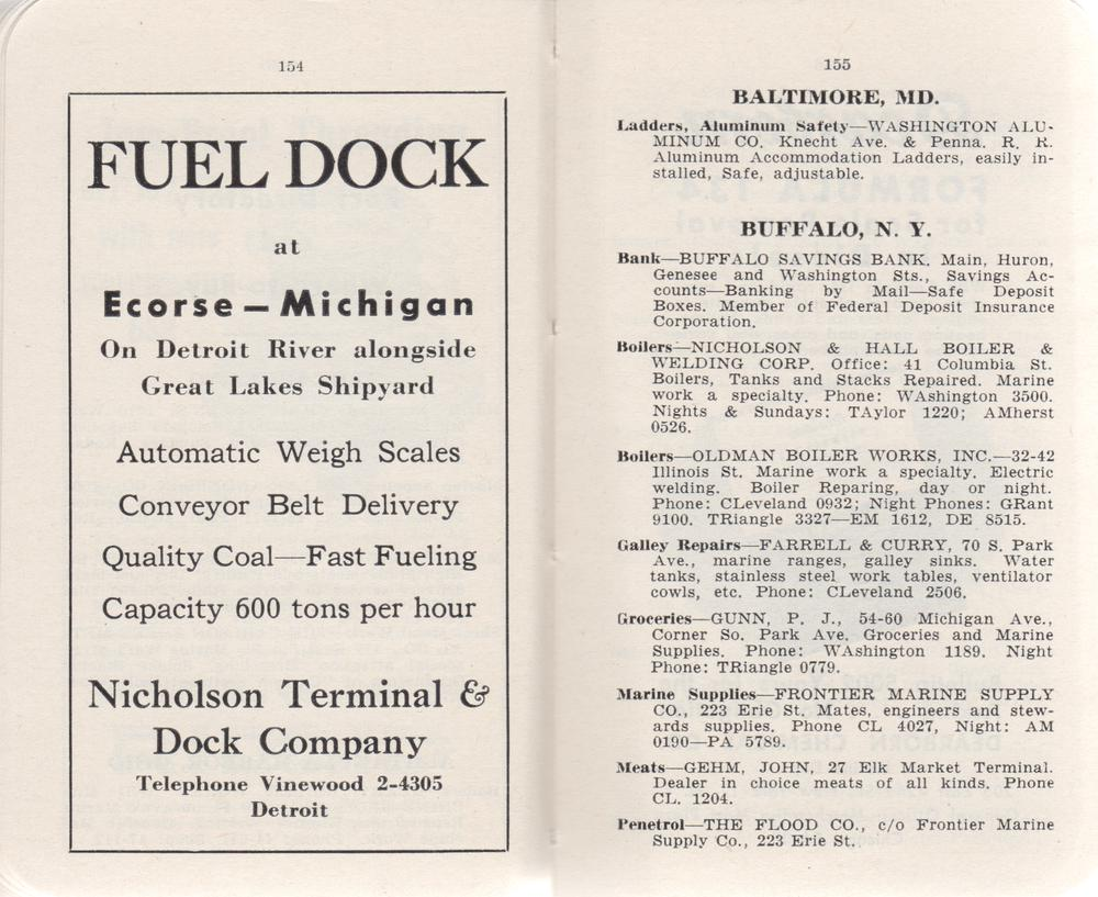 The Great Lakes Red Book, 1951