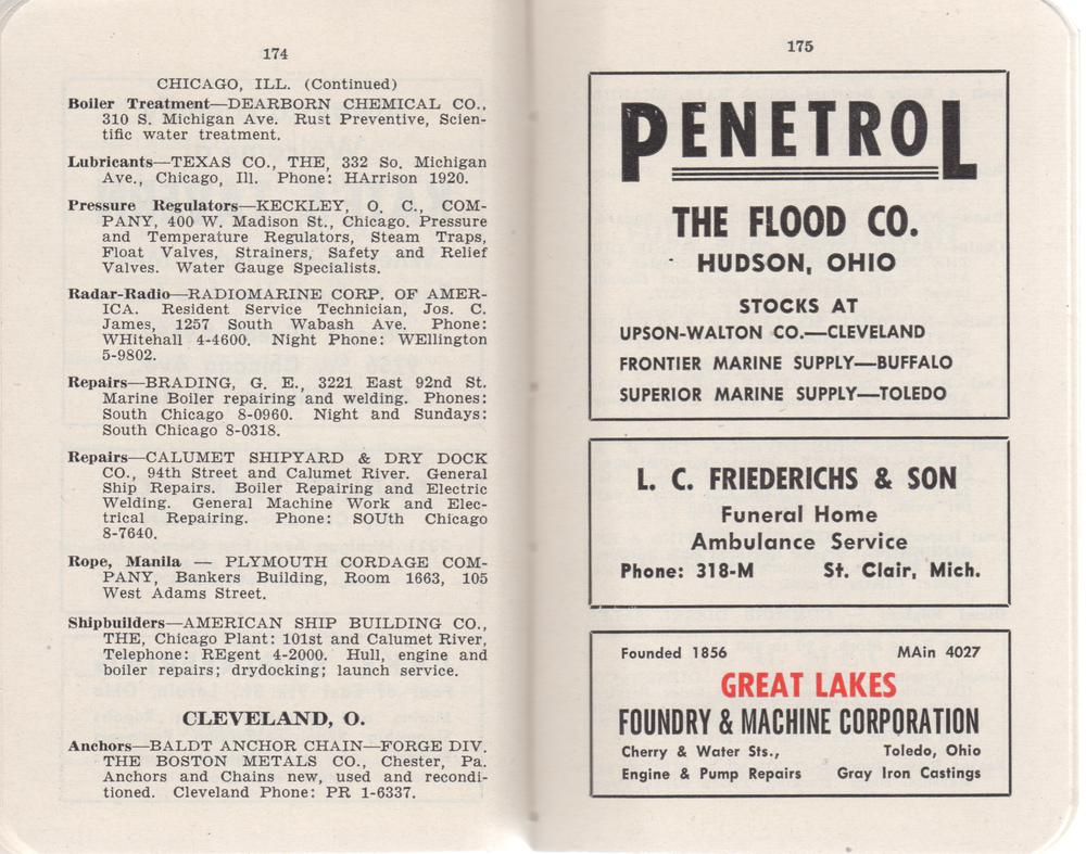 The Great Lakes Red Book, 1952