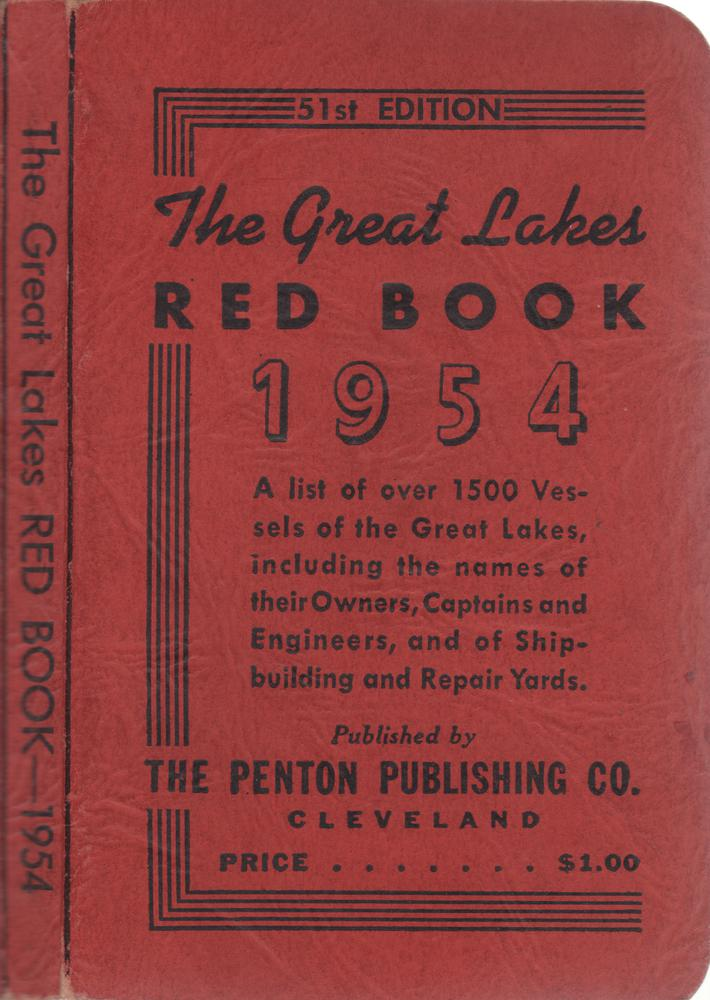The Great Lakes Red Book, 1954